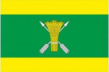 Флаг села Весёлая Слободка Макаровского района Киевской области Украины