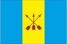 Флаг села Яполоть Костопольского района Ровненской области Украины