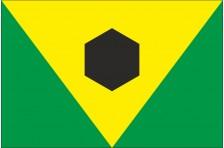 Флаг села Великий Мидск Костопольского района Ровненской области Украины