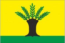 Флаг села Верба Дубенского района Ровненской области Украины