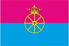 Флаг села Барахты Васильковского района Киевской области Украины
