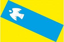 Флаг села Волица Фастовского района Киевской области Украины