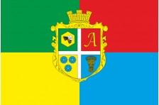 Флаг села Андреевичи Емильчинского района Житомирской области Украины