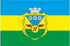 Флаг села Яблонец Емильчинского района Житомирской области Украины