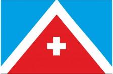 Флаг села Антиповка Золотоношского района Черкасской области Украины