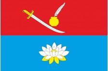 Флаг села Вербовка Городищенского района Черкасской области Украины
