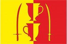 Флаг села Беседки Славутского района Хмельницкой области Украины