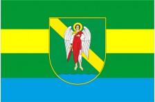 Флаг села Волица Хмельницкого района Хмельницкой области Украины
