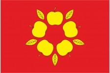 Флаг села Яблоновка Славутского района Хмельницкой области Украины
