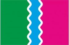 Флаг села Аджамка Кировоградского района Кировоградской области Украины