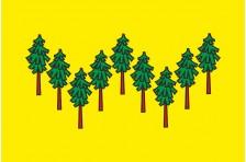 Флаг села Бирки Александровского района Кировоградской области Украины