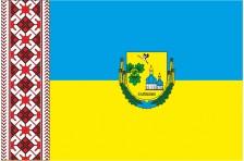 Флаг села Гайшин Переяслав-Хмельницкого района Киевской области Украины