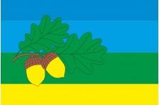 Флаг села Гатное Киево-Святошинского района Киевской области Украины