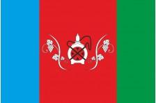 Флаг села Виноградное Болградского района Одесской области Украины