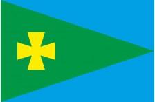 Флаг села Гаркушинцы Миргородского района Полтавской области Украины