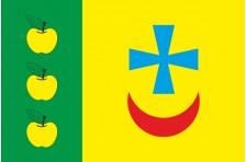 Флаг села Яблонево Оржицкого района Полтавской области Украины