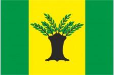 Флаг села Верхний Вербиж Коломыйского района Ивано-Франковской области Украины