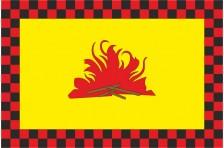 Флаг села Гавриловка Надворнянского района Ивано-Франковской области Украины