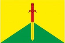 Флаг села Борщов Перемышлянского района Львовской области Украины