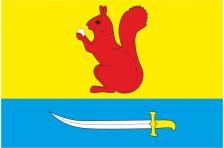 Флаг села Верхняя Белка Пустомытовского района Львовской области Украины