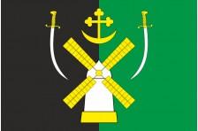 Флаг села Владимировское Запорожского района Запорожской области Украины