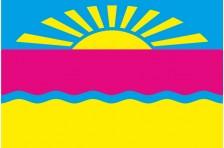 Флаг села Верхнекаменское Бахмутского района Донецкой области Украины