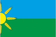 Флаг села Бахмутское Бахмутского района Донецкой области Украины