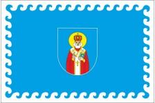 Флаг села Верхние Становцы Кицманского района Черновицкой области Украины