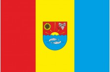 Флаг села Владычень Болградского района Одесской области Украины