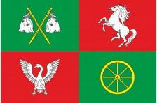 Флаг села Байковцы Тернопольского района Тернопольской области Украины