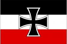 Флаг - Гюйс (Северогерманский союз 1868-1870гг)