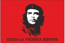 Флаг «Эрнесто Че Гевара». Вариант-04. HASTA LA VICTORIA SIEMPRE