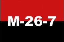 Флаг «Движение 26 июля». Вариант-01