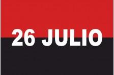 Флаг «Движение 26 июля». Вариант-02