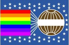 Флаг МИРА (Всемирный флаг мира, Джеймс Уильям ван Кирк)