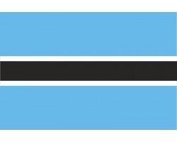 Флаг Ботсваны.
