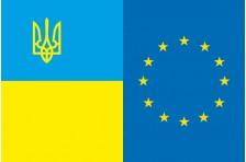 Флаг «Украина - Европа». Вариант-7