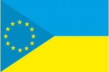 Флаг «Украина - Европа». Вариант-5