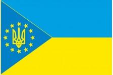 Флаг «Украина - Европа». Вариант-6