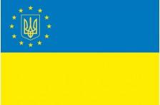 Флаг «Украина - Европа». Вариант-1