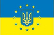Флаг «Украина - Европа». Вариант-2