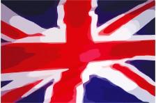 """Скатерть """"Великобритания"""". Вариант -02"""