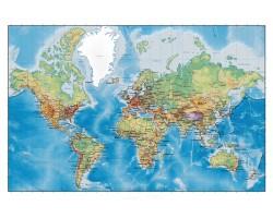 """Скатерть """"Карта МИРА"""". Вариант-03"""