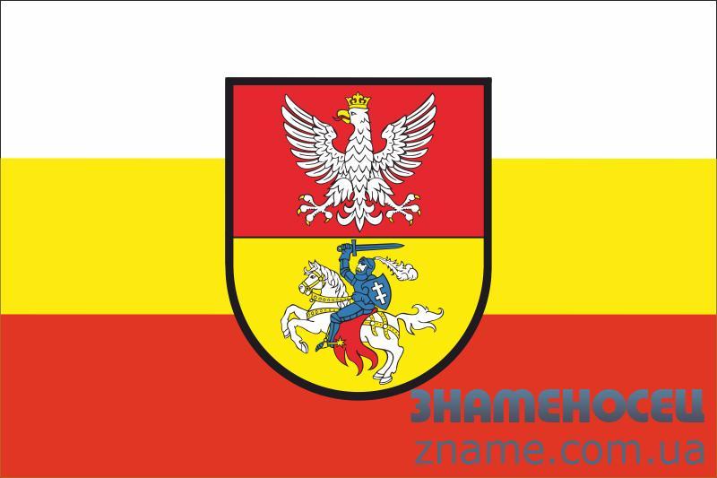 Флаг города Белосток, Польша