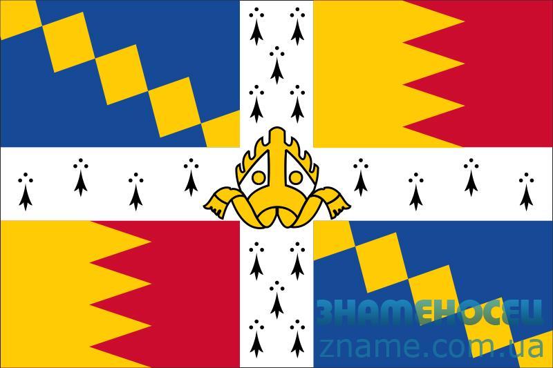 Флаг города Бирмингем, Англия (Великобритания)