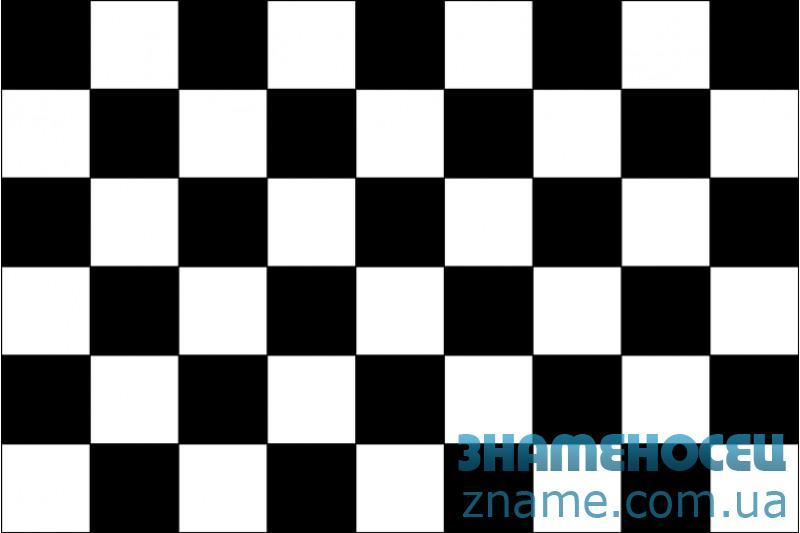 Прапор клітчастий «ФІНІШ»