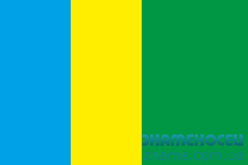 Флаг города Апостолово, Украина.