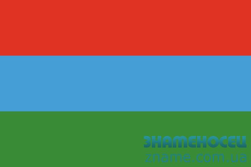 Флаг карел. Вариант-02
